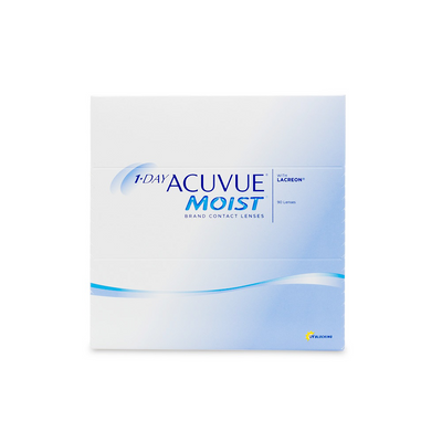 1 Day Acuvue Moist Contact Lenses - 90 pack (1 day wear)