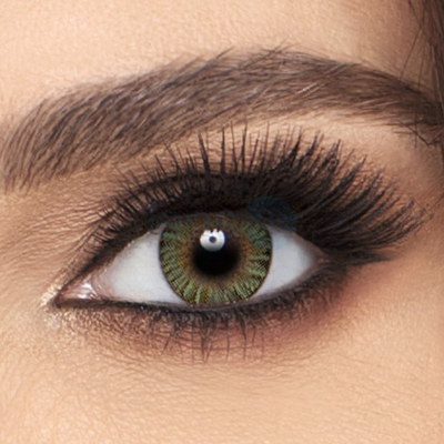 Freshlook Colorblends Green Contact Lenses - 2 pack (2 week wear)