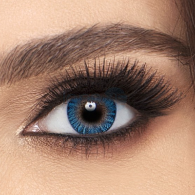 Freshlook Colorblends True Sapphire Contact Lenses - 2 pack (2 week wear)
