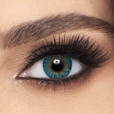 Freshlook Colorblends Turquoise Contact Lenses - 2 pack (2 week wear)