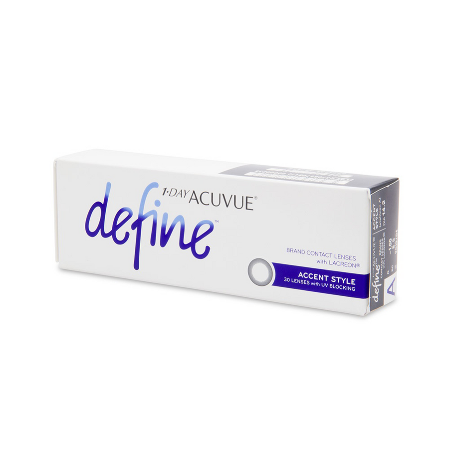 Acuvue Define Accent Contact Lenses - 30 pack (1 day wear)