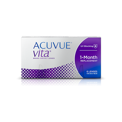 Acuvue Vita Contact Lenses - 6 pack (1 month wear)