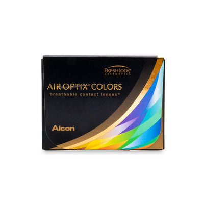 Air Optix Colors Brown Contact Lenses - 6 pack (1 month wear)