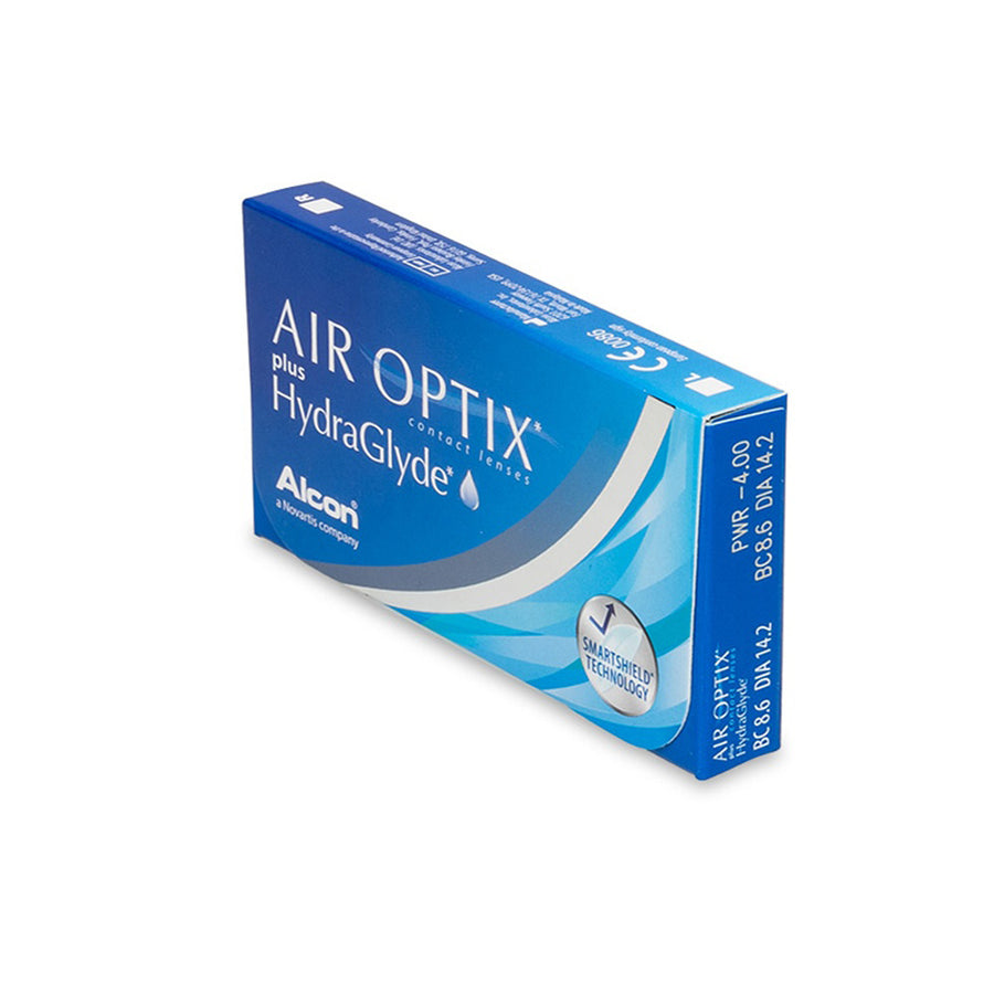 Air Optix Plus HydraGlyde Contact Lenses - 3 pack (1 month wear)