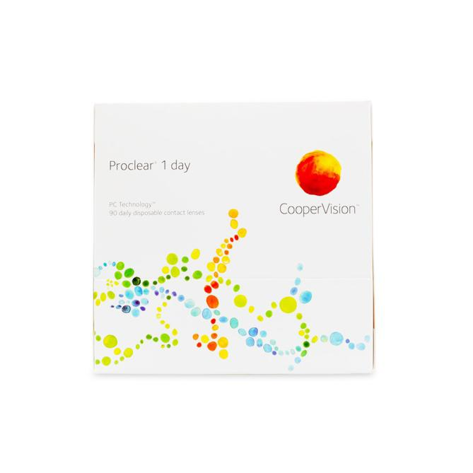 Proclear 1 Day Contact Lenses - 90 pack (1 day wear)
