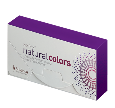 SOLFLEX Natural Colors Quartzo Lenses (1 Month Wear)