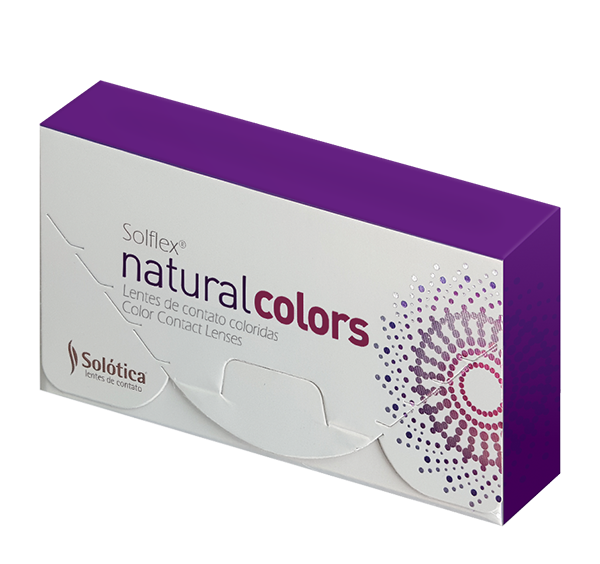 SOLFLEX Natural Colors Topazio Lenses (1 Month Wear)