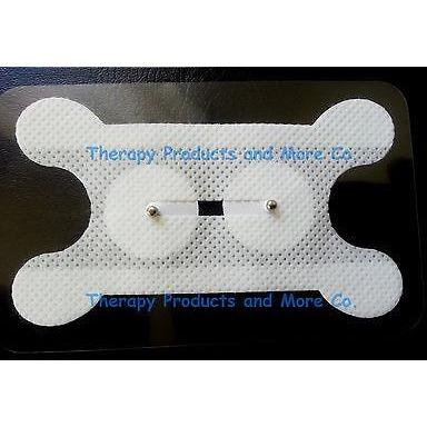 Electrode Pads for Vitalstim Speech Therapy (2) 2.2mm Snap Dysphasia Swallowing