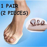 1 Pair~Toe Splint Corrector Straightener Triple Toe Hammer Claw Overlapping Toe
