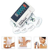 TENS DIGITAL MASSAGER W/CONDUCTIVE SOCKS, KNEE PADS HELPS ARTHRITIS/NEUROPATHY