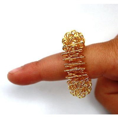 2 PCS ACUPUNCTURE RING (Massage Circulation Ring, Finger Massage)