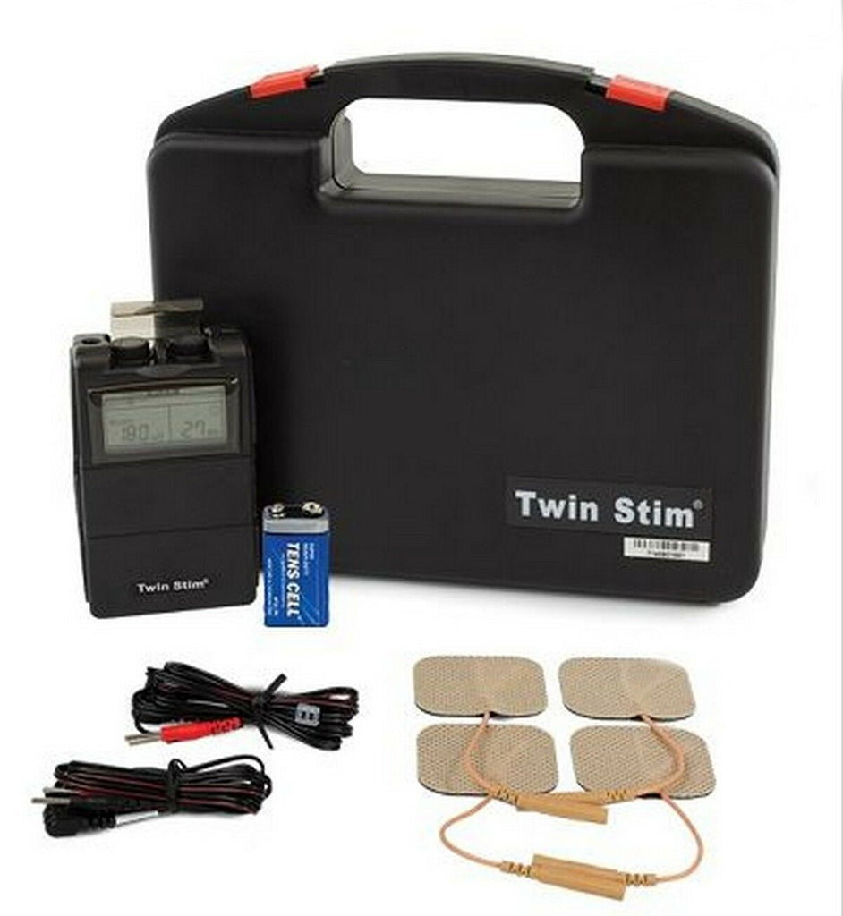 Twin Stim 2nd Edition ~ TENS EMS Combo Unit w/ Case
