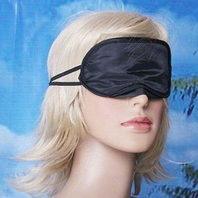 2 Charmeuse Silk Sleeping Masks Eye Cover Blindfold Double Layer Light Protect