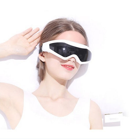Electric Eye Forehead Massager 9 Modes Alleviate Migraine Headache Fatigue