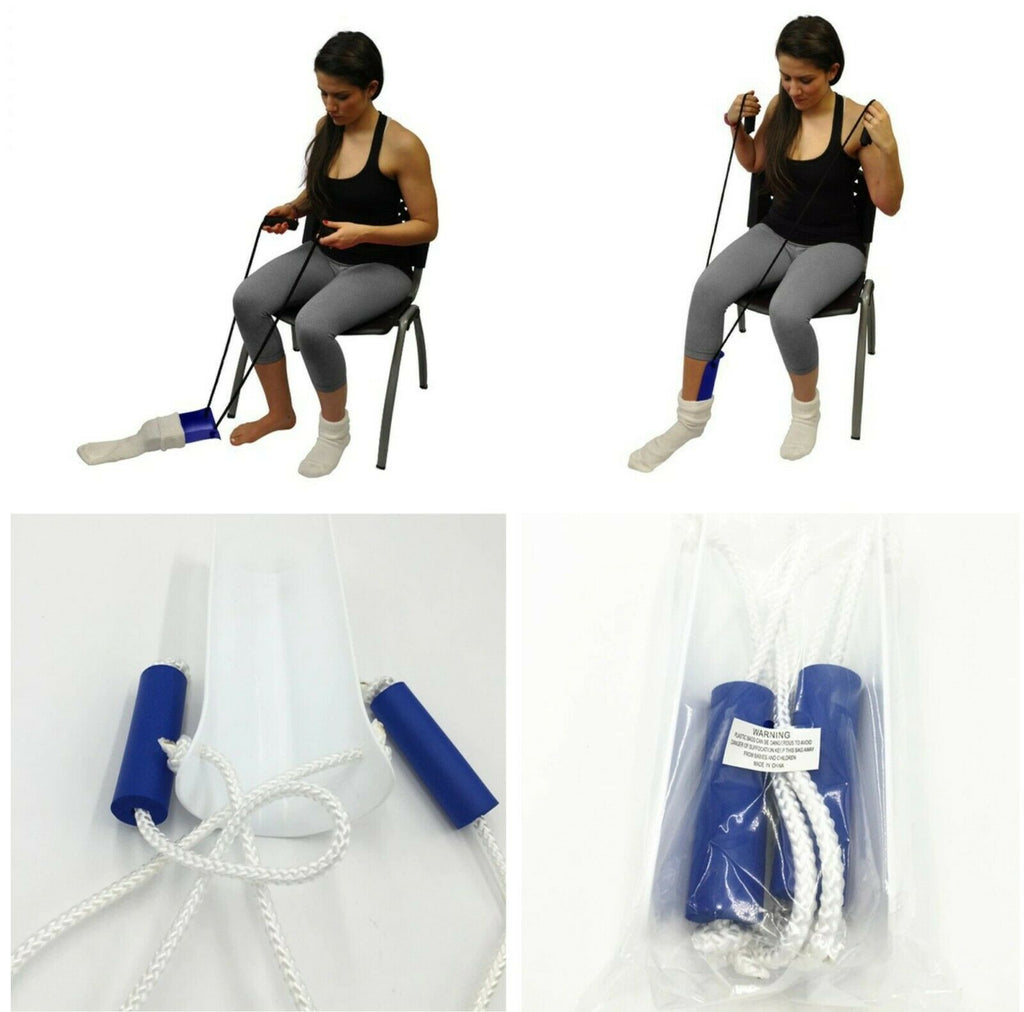 Sock Aid Kit Slider Helper Aids with No Bending For Hip Replacement Pregnancy