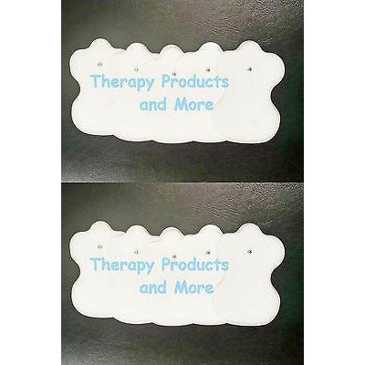 ELECTRODE MASSAGE REPLACEMENT PADS 5 PAIR (10) FOR DIGITAL MASSAGER AND TENS