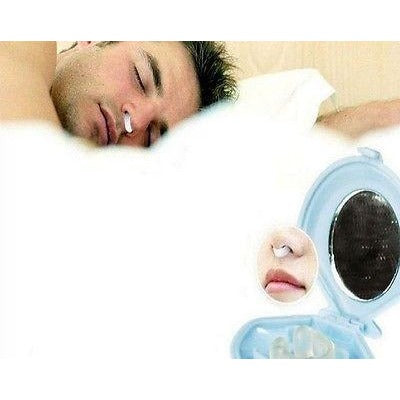 Stop Snoring Nose Clip Anti Snoring Silicon Nose Night Sleep Aid Plug Device
