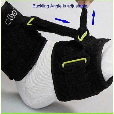 Drop Foot Brace Support Device for Nighttime Sleep & Gait -Prevent Contracture