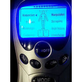 DIGITAL MASSAGER ESTIM Therapy Machine 12 PADS w/Holder USB Power or Battery NEW