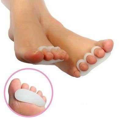 2 Gel Toe Separators Orthotics Stretchers Align Correct Overlapping Hammer Toes
