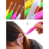 3x Lot of LED Flashlight Ear Pick Ear Wax Remover Cleaner Tool Set