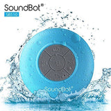 SoundBot SB510 HD Water Resistant Bluetooth 3.0 Shower Speaker, Handsfree