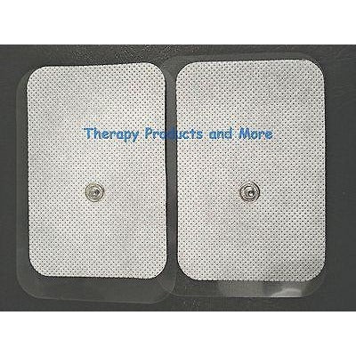 4 XL Wide Electrode Replacement Massage Pads 9x6cm for Aurawave Digital Massager