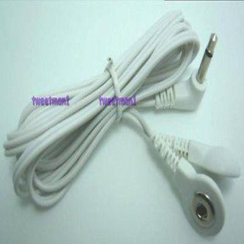 *+BONUS* Electrode Lead Wire/Cable Connector 3.5mm Plug For Smart Relief Digital Massager