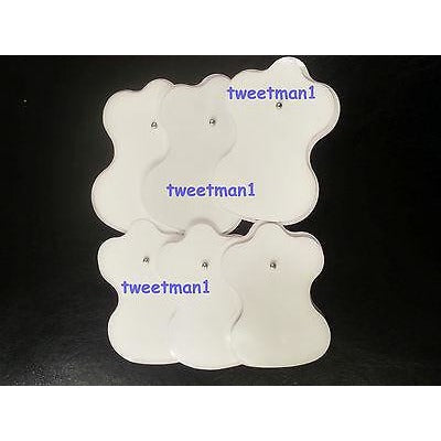 Electrode Pads (6) Replacement for Slimming massager / Digital Massager