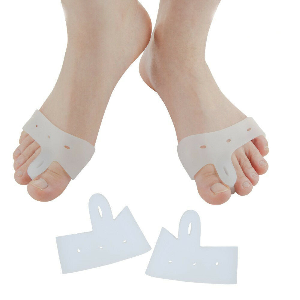 2 Creative Bunion Band Gel Toe Spreader Separator Protector Foot Care 1 Pair