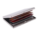 Stainless Steel Credit Card ID Bank Business Card Holder for Men Women RFID