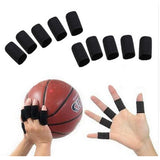 10 Finger Splint Guard Bands Nylon Bandage Support Wraps Basketball Volleyball