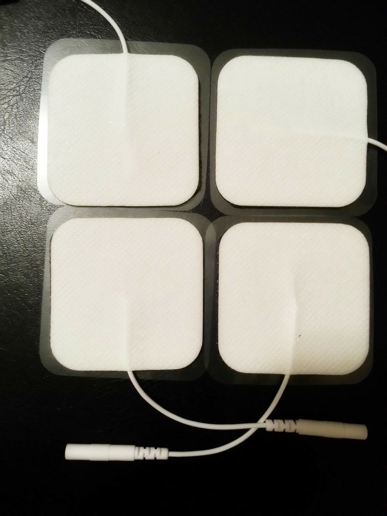 8 Square Massage Pads Electrodes for Comfy TENS Comfy Combo Comfy EMS