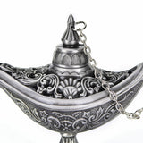 New Aladdin Magic Genie Light Oil Lamp Pot Aladdin Lamp Stunning Decoration