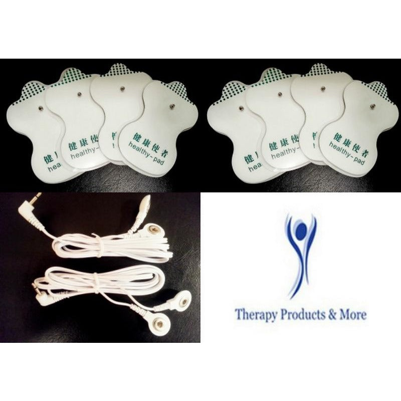 Eliking Ipro Compatible Massage Lead Cables with 16 Massage Pads
