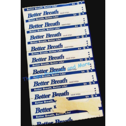 400 NASAL STRIPS (Large) Breathe Better/Reduce Snoring Right Now