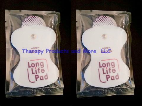 4 Omron Electrotherapy Long Life Replacement Pads  PMLLPad
