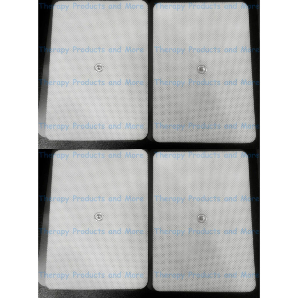 EXTRA WIDE BIG ELECTRODE MASSAGE PADS FOR BACK (8) FOR TENS DIGITAL MASSAGER