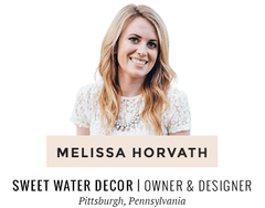 Melissa Horvath | Sweet Water Decor | Pittsburgh-based woman entrepreneur