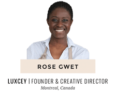 Rose Gwet | Luxcey Skincare Rituals | Montreal based woman entrepreneur