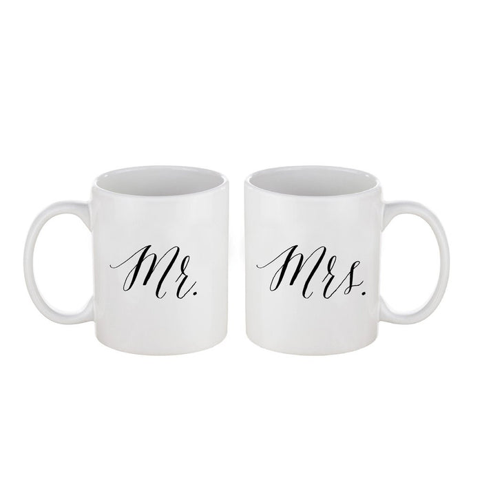 Mr and Mrs. Coffee Mug Set