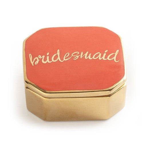 Love is in the air- Bridesmaid lidded box