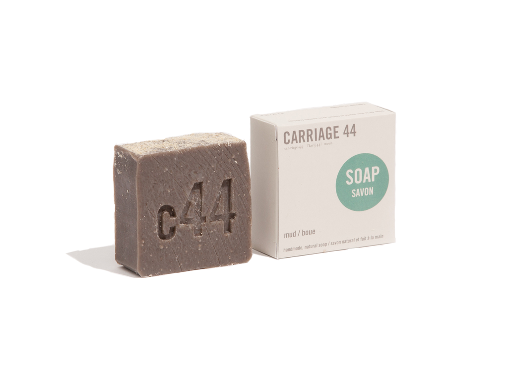Carriage 44 Mud All-natural Vegan Soap