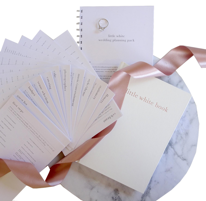 Little White Wedding Planning Pack