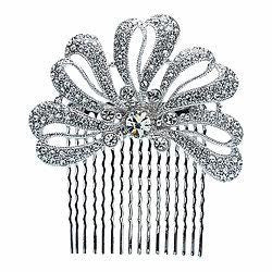 Diamond-encrusted Bridal Hair Comb