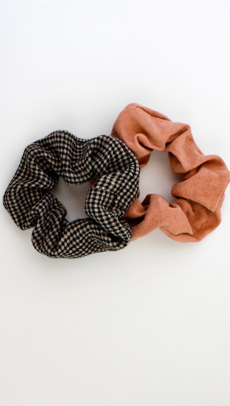 Upcycled Scrunchies 2-Pack