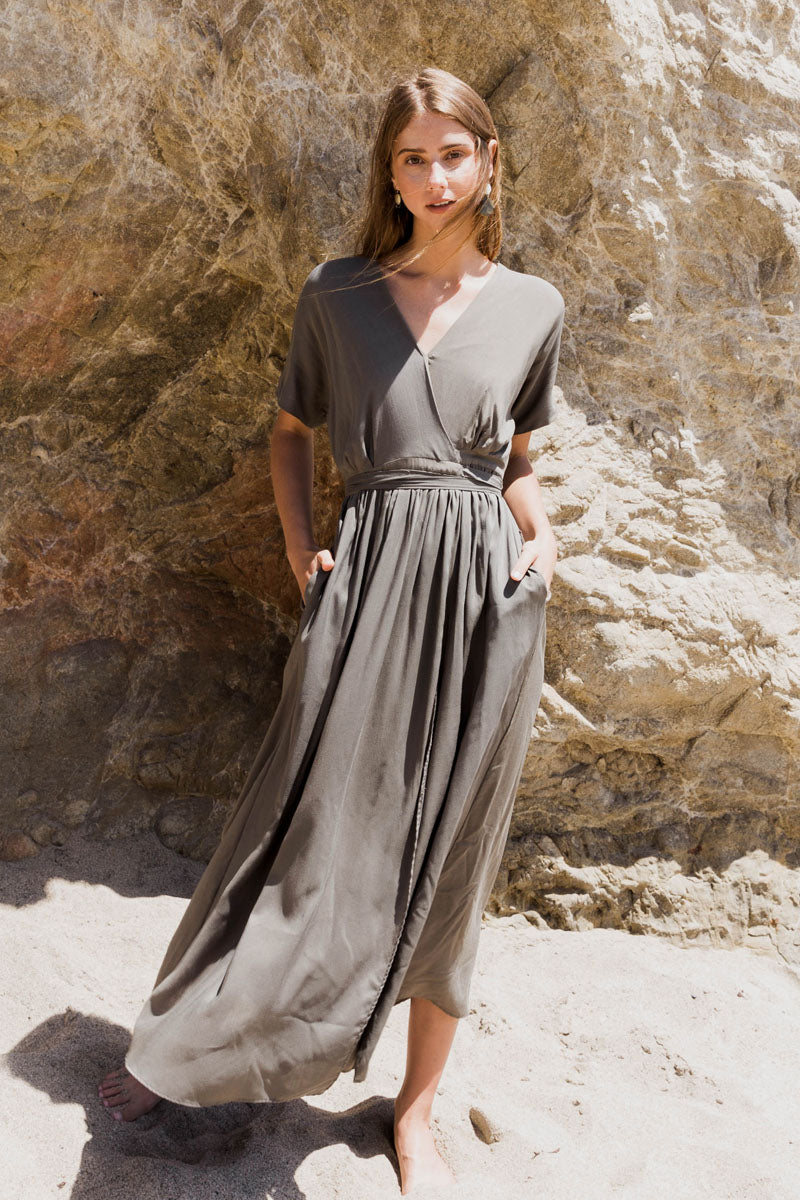 The Ruth Wrap Dress