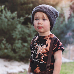 acid wash distressed tshirt for baby boy girl trendy kids clothes tenth and pine