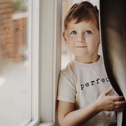 Our perfect designed tee is made of natural organic cotton in the USA and is perfect for every boy and girl from infant to toddler