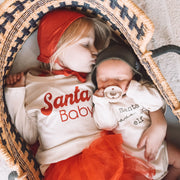 Santa's Favorite Elf - Organic Bodysuit - Long Sleeve